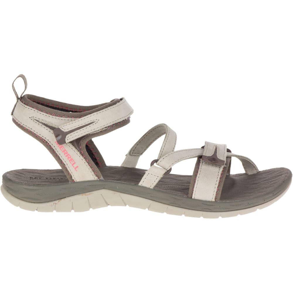 MERRELL Women's Siren Strap Q2 Sandals, Aluminum - ALUMINUM