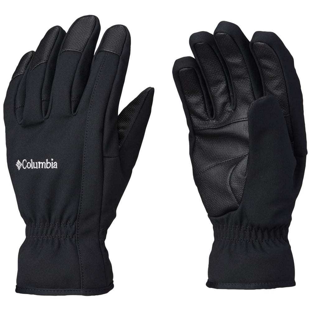 COLUMBIA Men's Northport Insulated Softshell Gloves - 010-BLACK