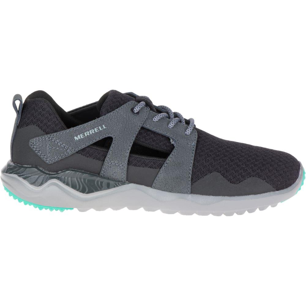 MERRELL Women's 1SIX8 Slice Trail Running Shoes, Black - BLACK