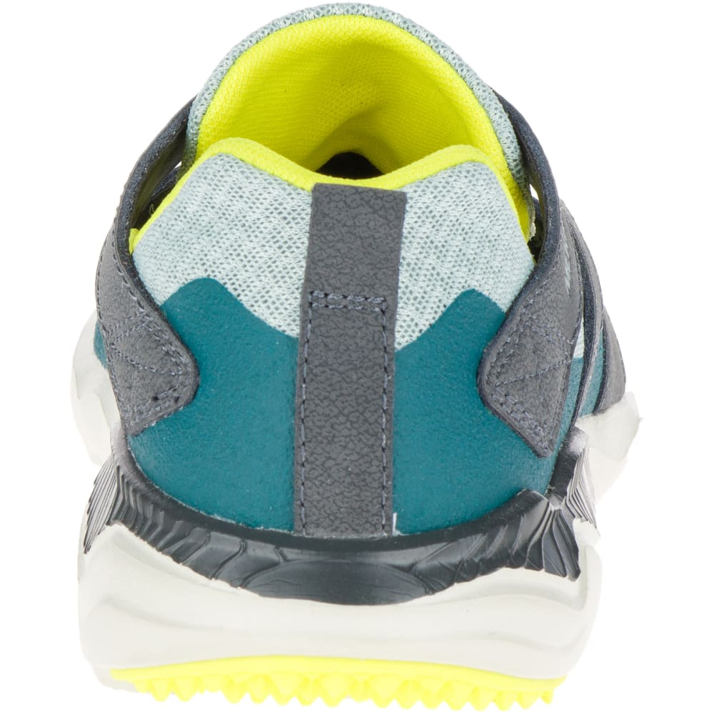 MERRELL Women's 1SIX8 Slice Trail Running Shoes, Blue Surf - BLUE SURF