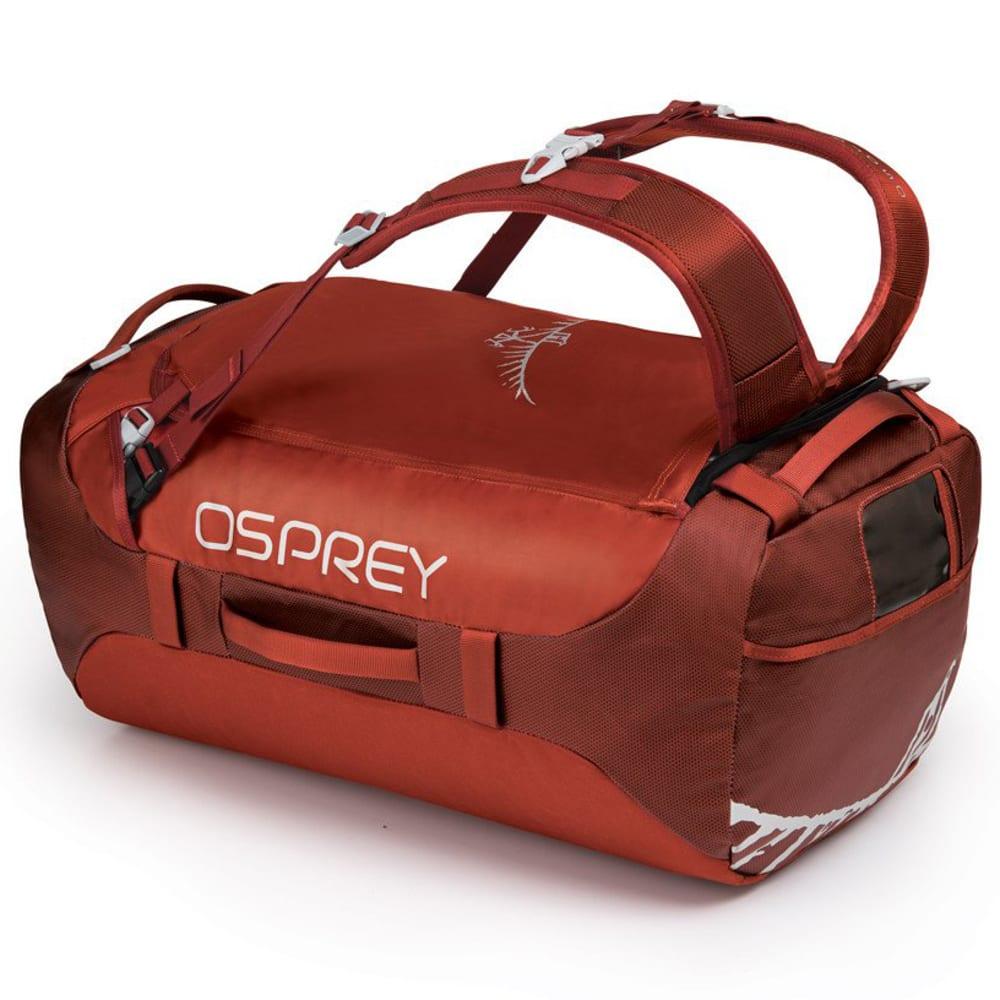OSPREY Transporter 65 Duffel - RUFFIAN RED 1150