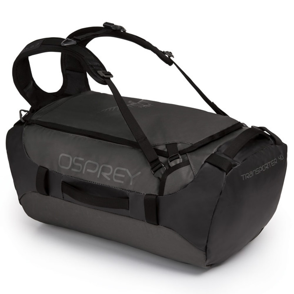 OSPREY Transporter 40 Backpack Duffel - BLACK