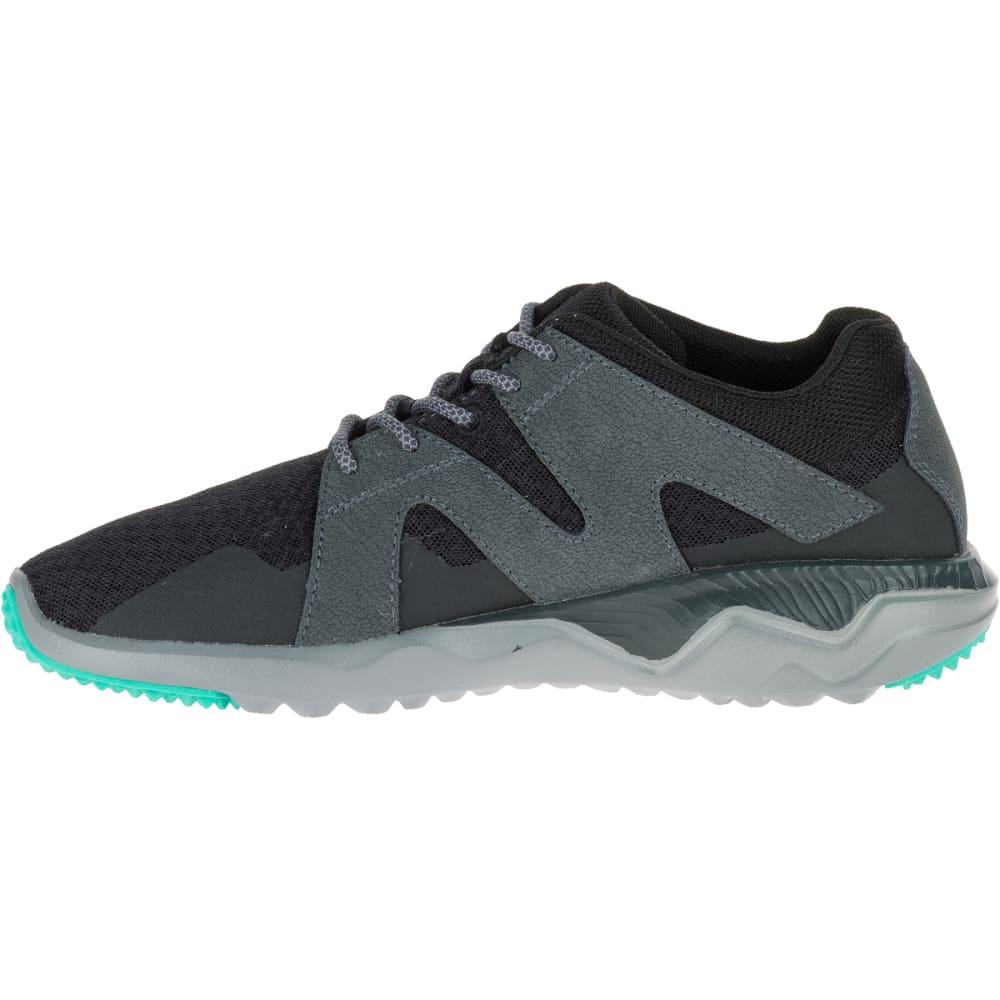 MERRELL Women's 1SIX8 Mesh Trail Running Shoes, Black - BLACK