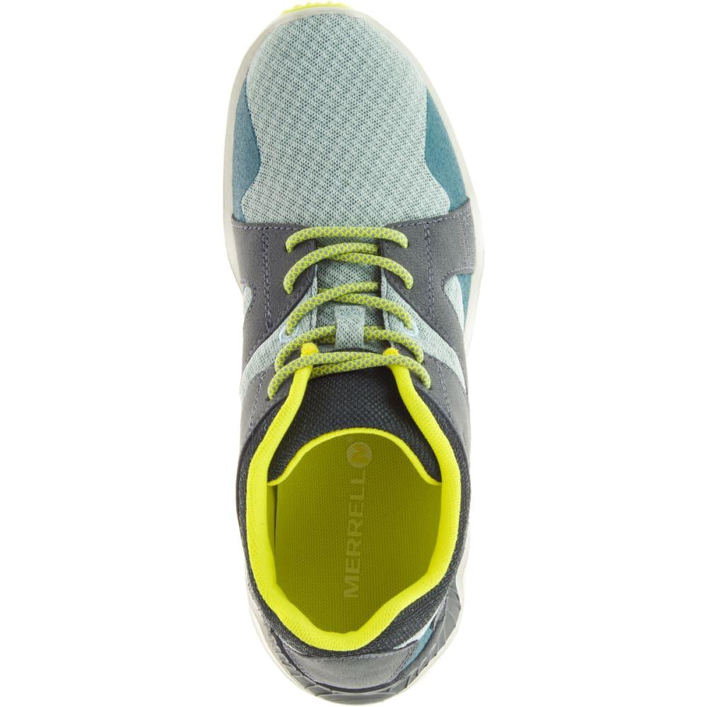 MERRELL Women's 1SIX8 Mesh Trail Running Shoes, Blue Surf - BLUE SURF