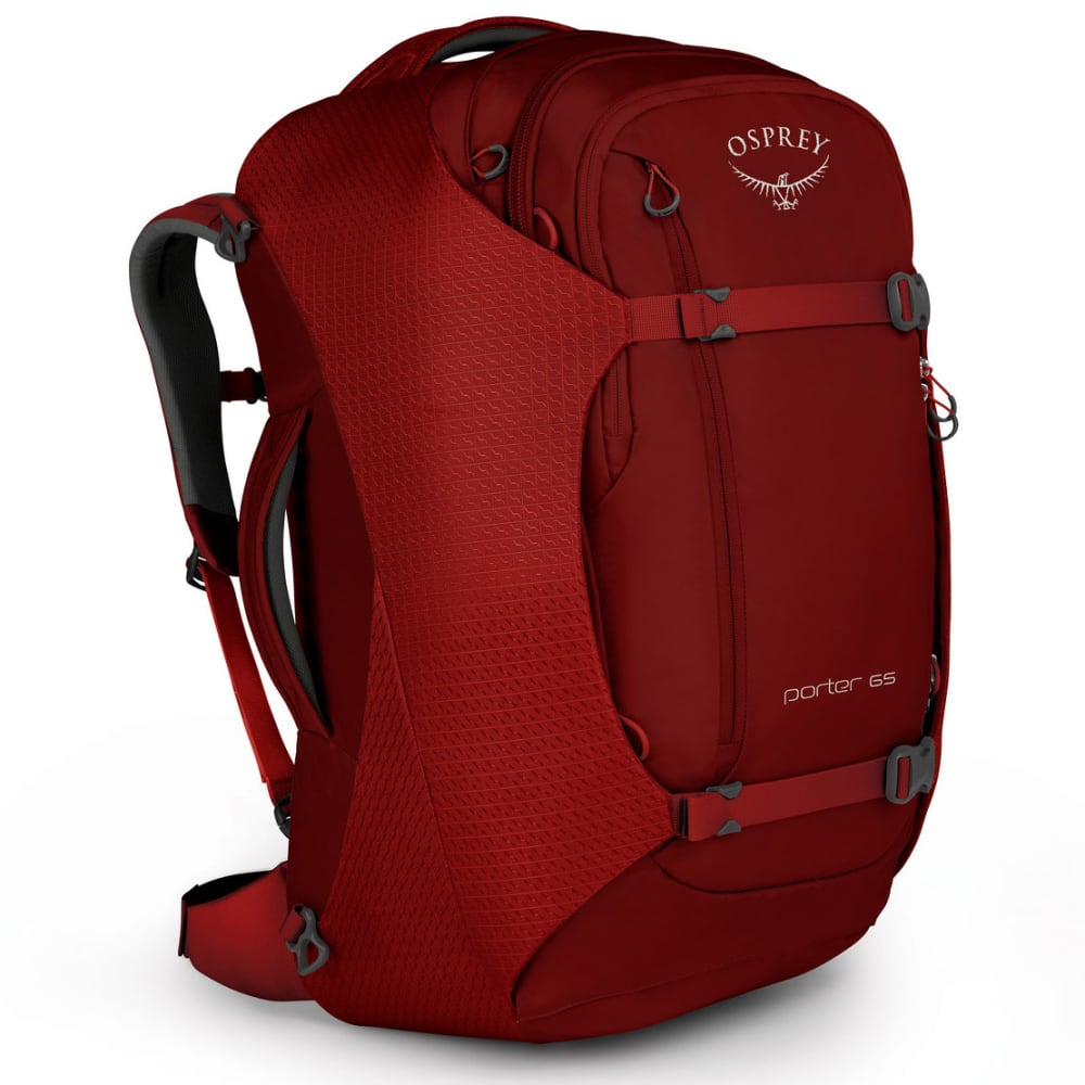 OSPREY Porter 65 Travel Pack - DIABLO RED