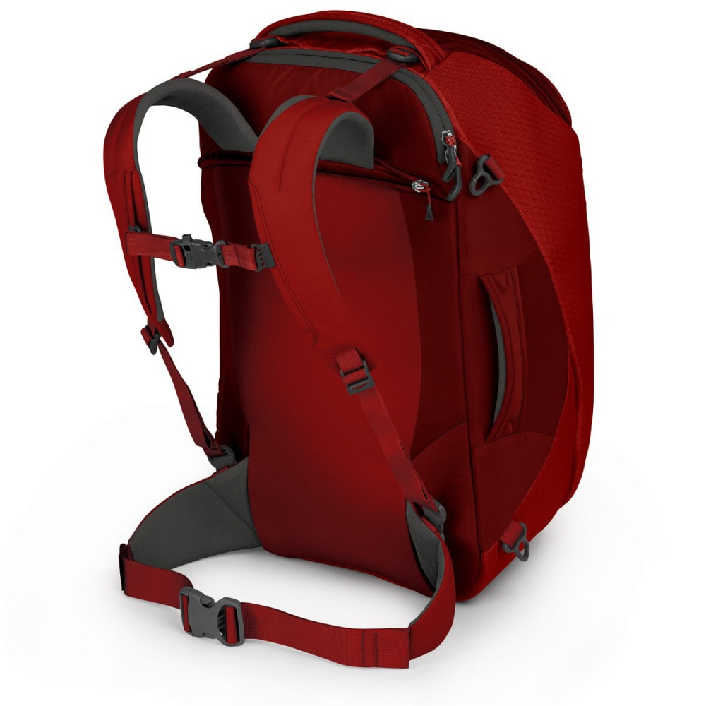 OSPREY Porter 46 Travel Pack - DIABLO RED