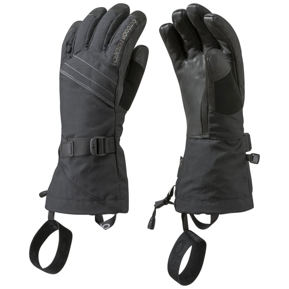 OUTDOOR RESEARCH Women's Southback Sensor Gloves - BLACK