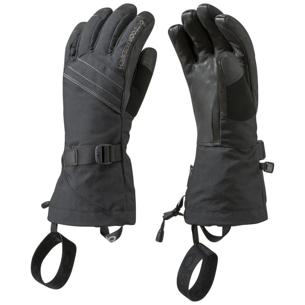 OUTDOOR RESEARCH Women's Southback Sensor Gloves - BLACK