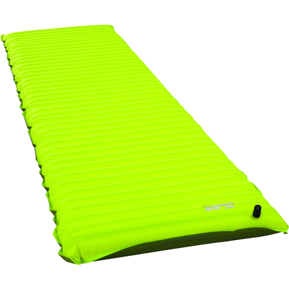 THERM-A-REST NeoAir Trekker Sleeping Pad, Regular - LIME PUNCH