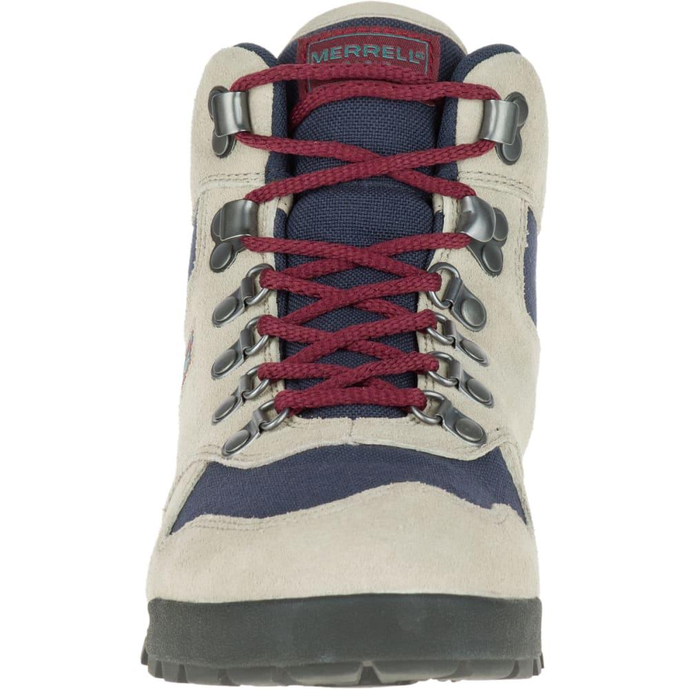 MERRELL Women's Eagle Hiking Boots, Aluminum - ALUMINUM