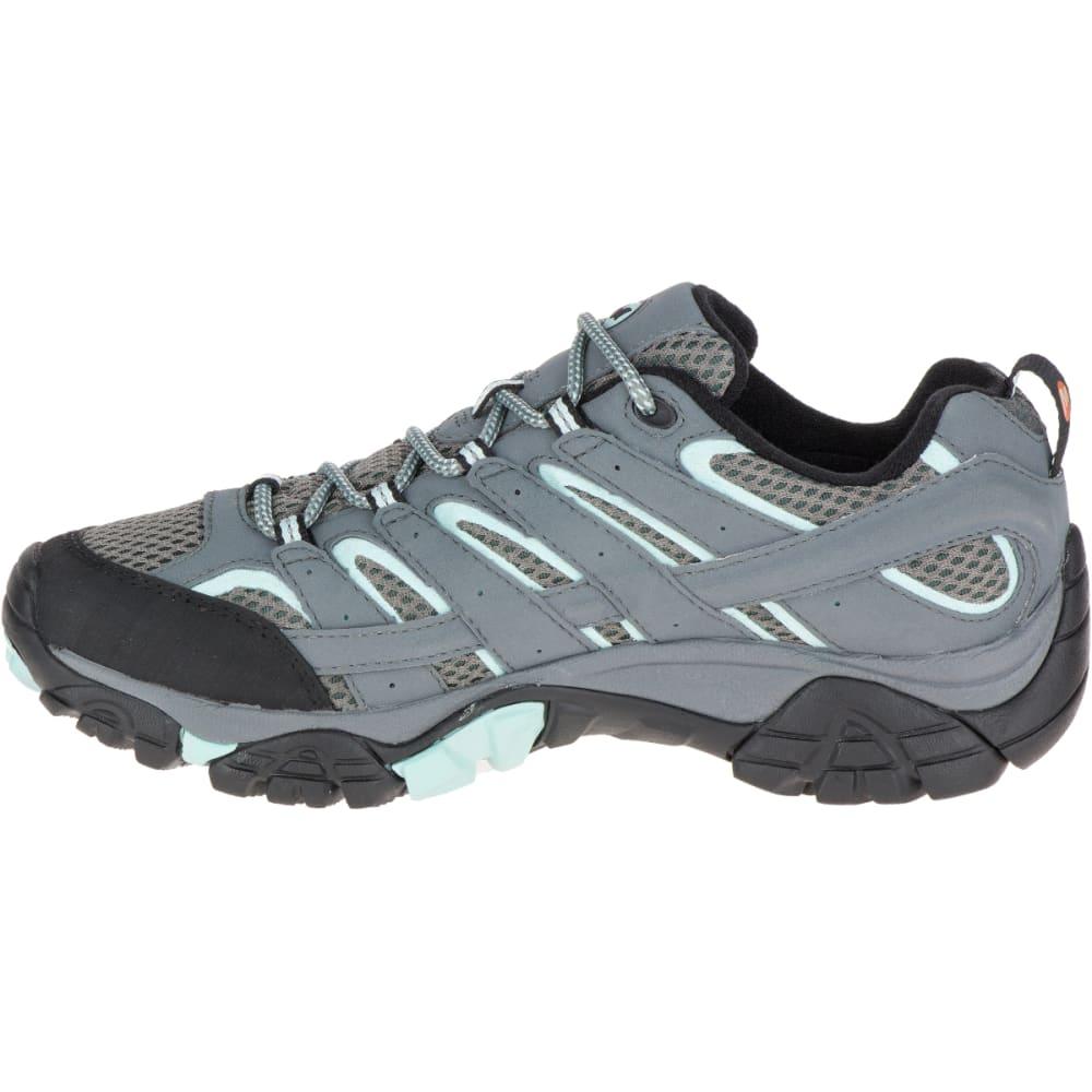 MERRELL Women's Moab 2 GORE-TEX Waterproof Hiking Shoes, Sedona Sage - SEDONA SAGE