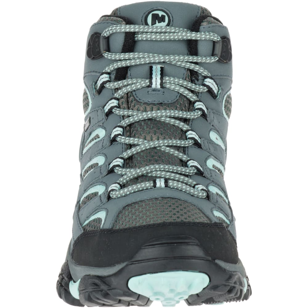 d253c533493 MERRELL Women's Moab 2 Mid GORE- TEX Waterproof Hiking Boots, Sedona Sage