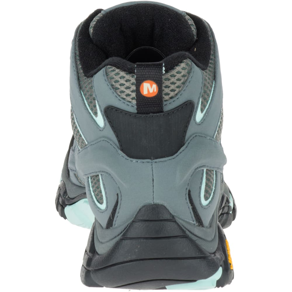 MERRELL Women's Moab 2 GORE-TEX Waterproof Hiking Boots,Sedona Sage, Wide - SEDONA SAGE