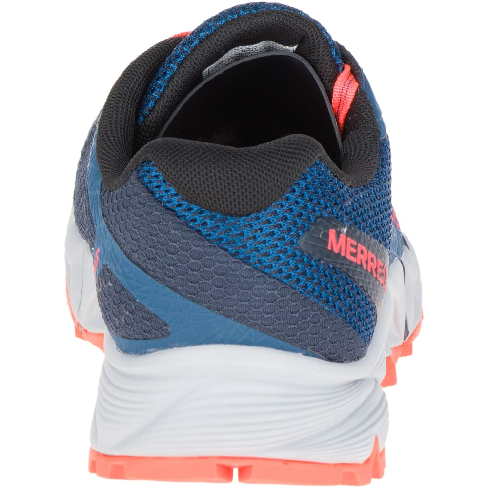 MERRELL Women's Agility Charge Flex Trail Running Shoes, Navy - NAVY