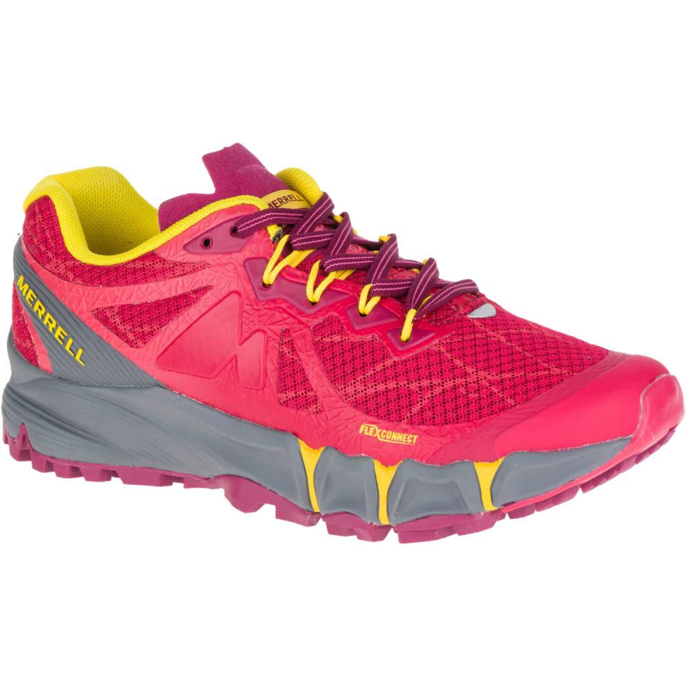MERRELL Women's Agility Peak Flex Trail Running Shoes, Ski Patrol -