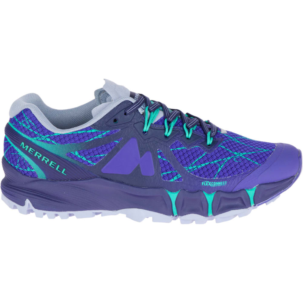 MERRELL Women's Agility Peak Flex Trail Running Shoes, Liberty - LIBERTY