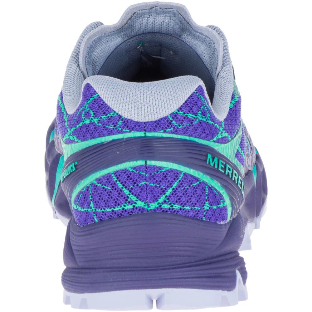 MERRELL Women's Agility Peak Flex Trail Running Shoes, Liberty - LIBERTY