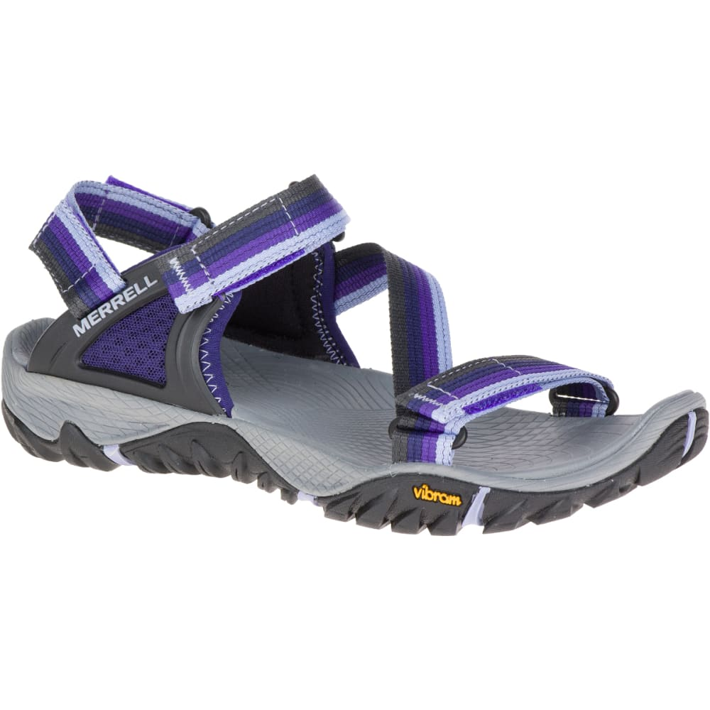 MERRELL Women's All Out Blaze Web Sandals, Astral Aura - ASTRAL AURA