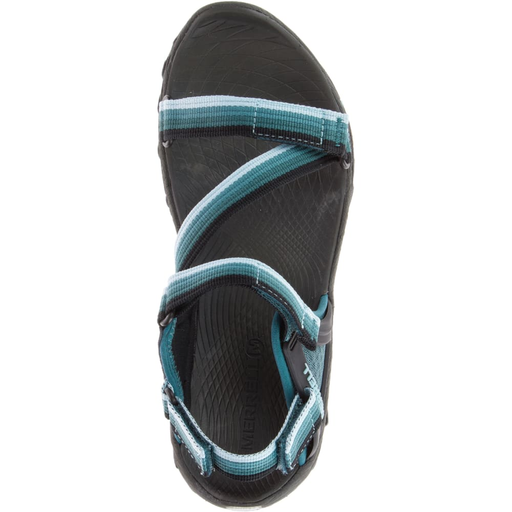 MERRELL Women's All Out Blaze Web Sandals, Sea Pine - SEA PINE