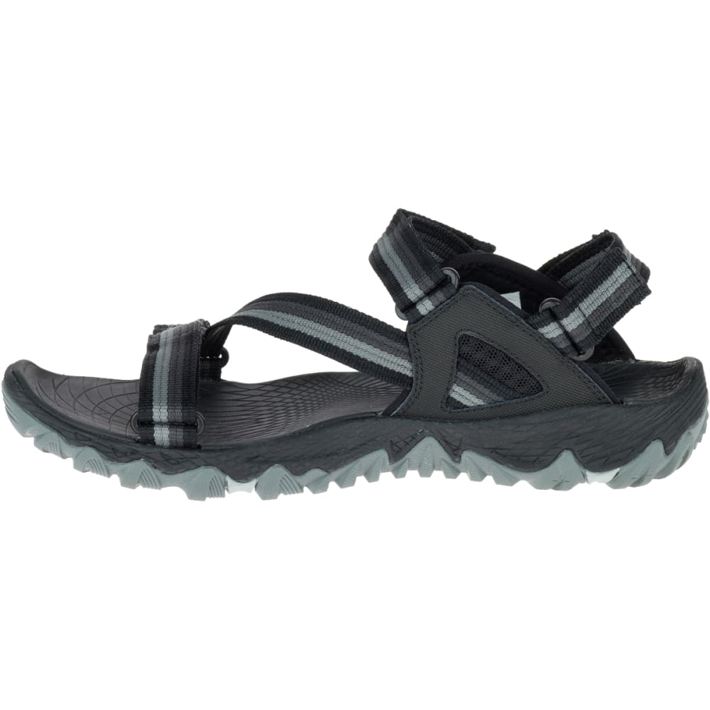 MERRELL Women's All Out Blaze Web Sandals, Black - BLACK