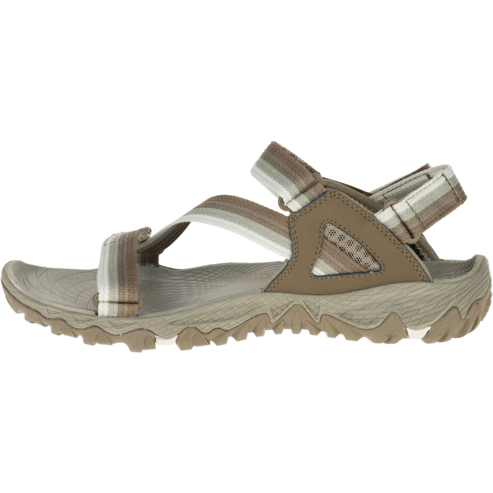 MERRELL Women's All Out Blaze Web Sandals, Aluminum - ALUMINUM