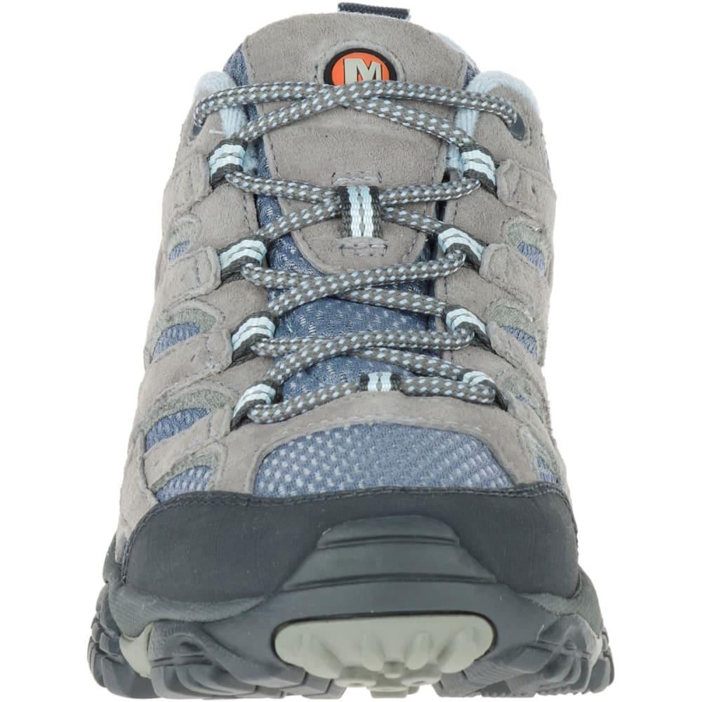 MERRELL Women's Moab 2 Ventilator Hiking Shoes, Smoke, Wide - SMOKE