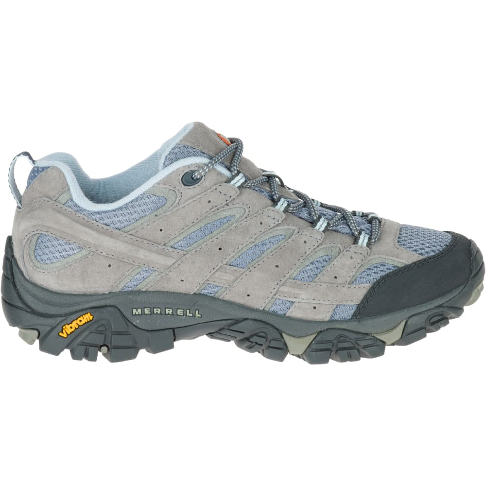 MERRELL Women's Moab 2 Ventilator Hiking Shoes, Smoke, Wide - SMOKE