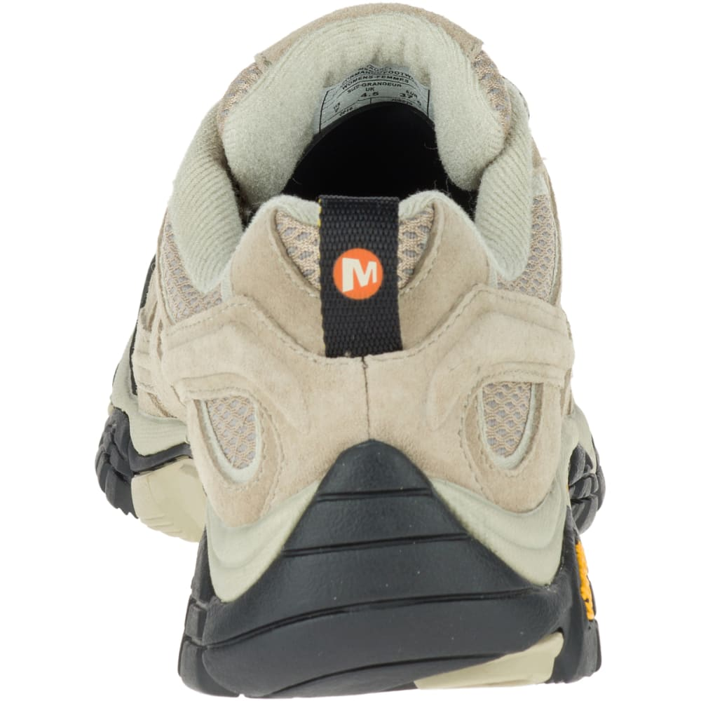MERRELL Women's Moab 2 Ventilator Hiking Shoes, Taupe, Wide - TAUPE