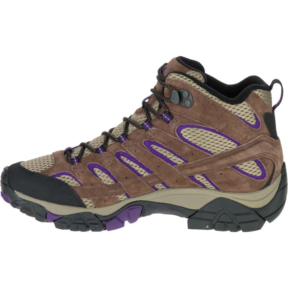 merrell womens moab ventilator mid hiking boot pack