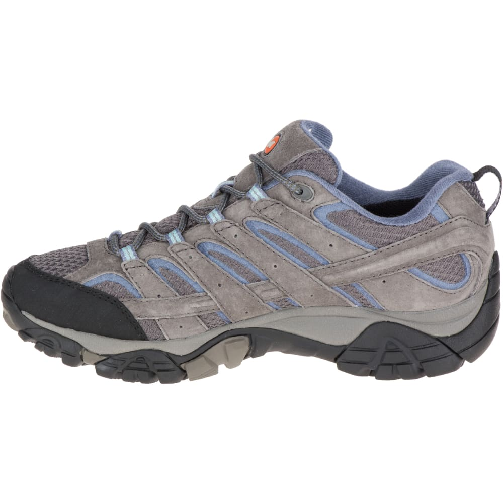 MERRELL Women's Moab 2 Waterproof Hiking Shoes, Granite - GRANITE