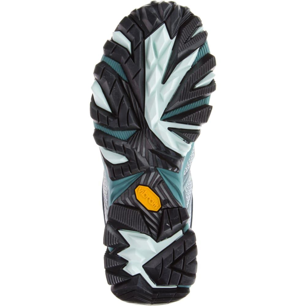 MERRELL Women's Moab FST Waterproof Hiking Boots, Sea Pine - SEA PINE