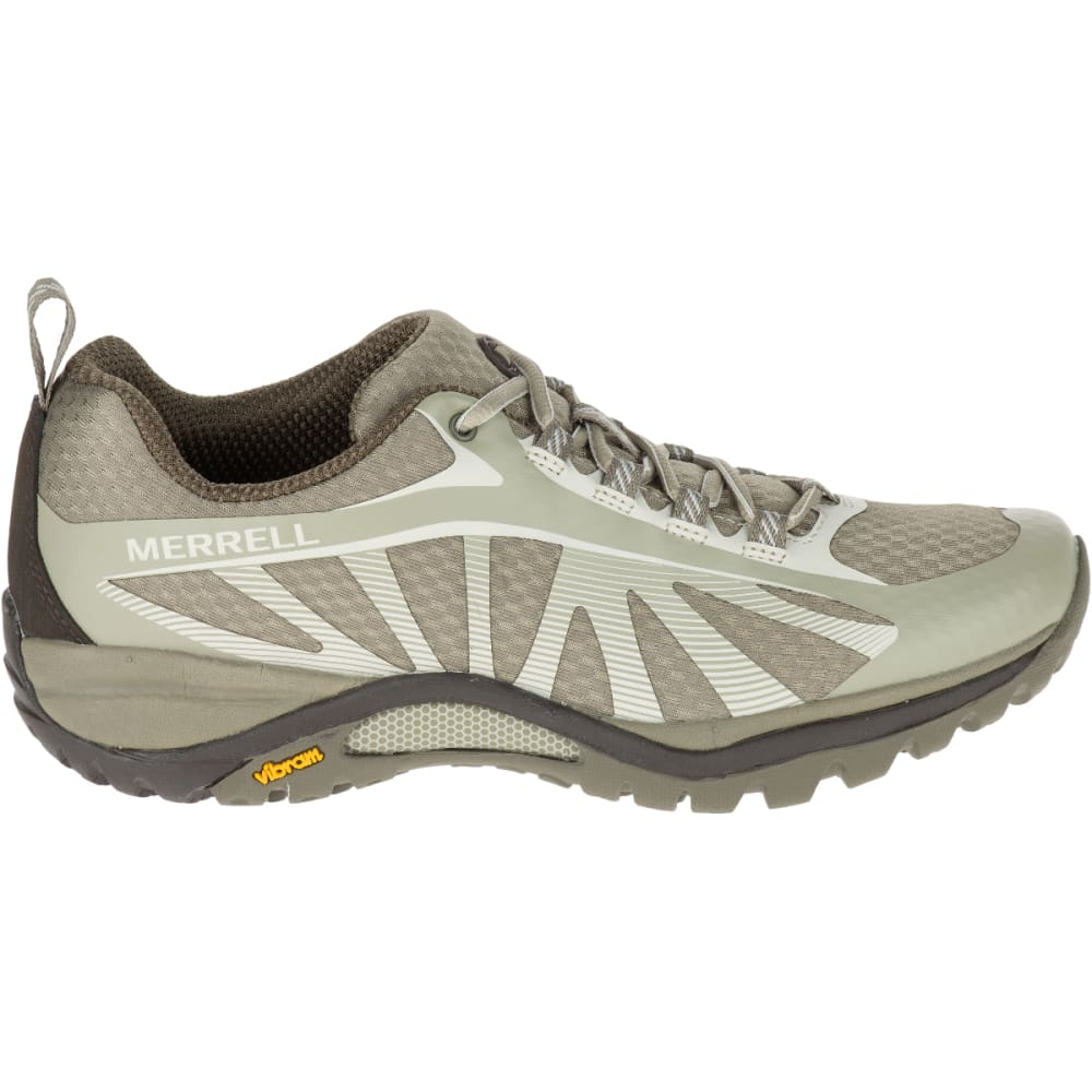 MERRELL Women's Siren Edge Hiking Shoes, Aluminum - ALUMINUM