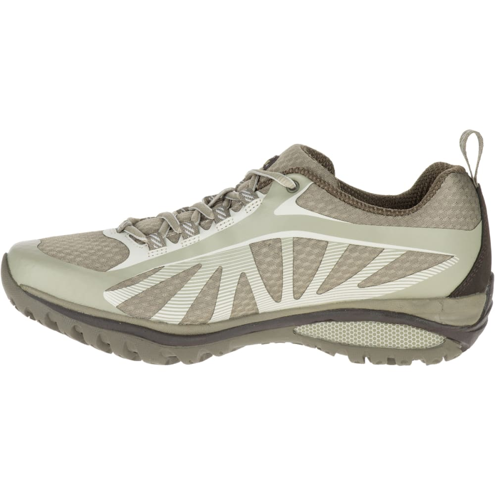 MERRELL Women's Siren Edge Hiking Shoes, Aluminum - ALUMINUM