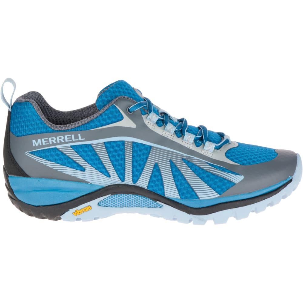 MERRELL Women's Siren Edge Hiking Shoes, Faience/ Forget- Me- Not - FAIENCE/FRGT M NOT