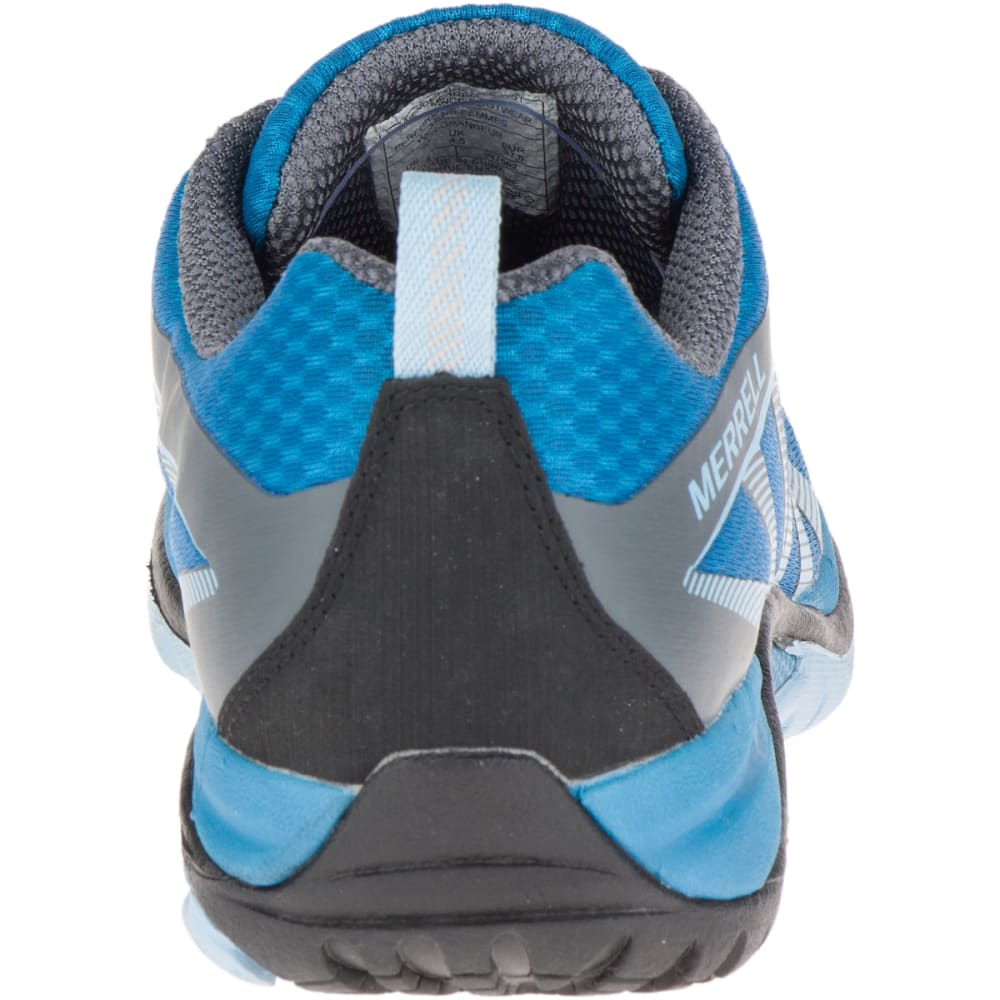MERRELL Women's Siren Edge Waterproof Hiking Shoes, Faience/ Forget- Me- Not - FAIENCE/FGT ME NOT