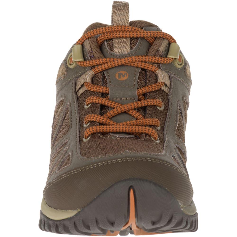 MERRELL Women's Siren Sport Q2 Hiking Boots, Slate Black - SLATE BLACK