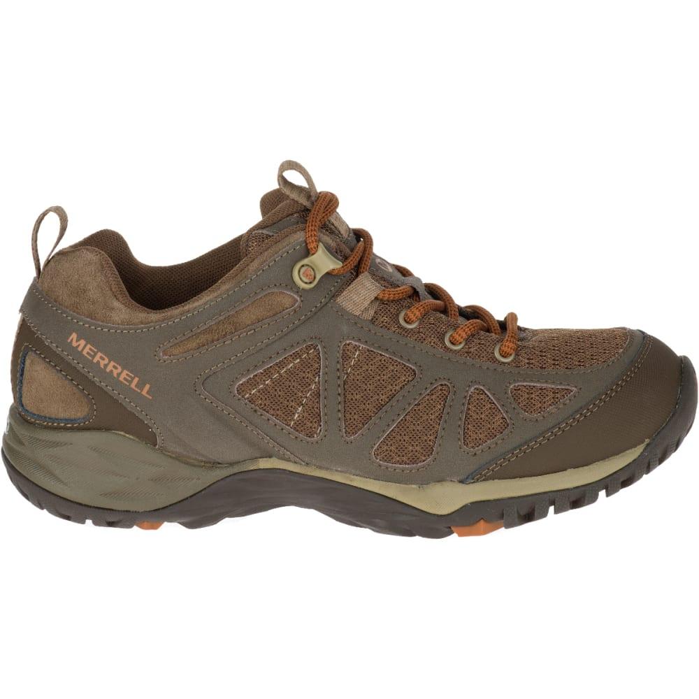 MERRELL Women's Siren Sport Q2 Hiking Boots, Slate Black, Wide - SLATE BLACK