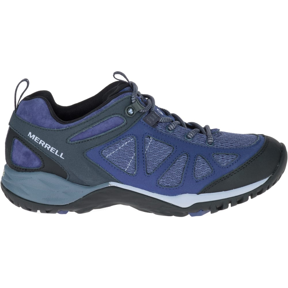 MERRELL Women's Siren Sport Q2 Hiking Shoes, Crown Blue - CROWN BLUE