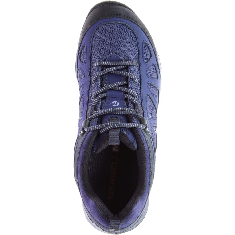 MERRELL Women's Siren Sport Q2 Hiking Shoes, Crown Blue - CROWN BLUE