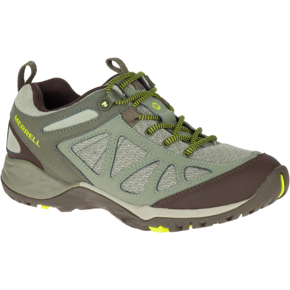 MERRELL Women's Siren Sport Q2 Hiking Shoes, Dusty Olive - DUSTY OLIVE