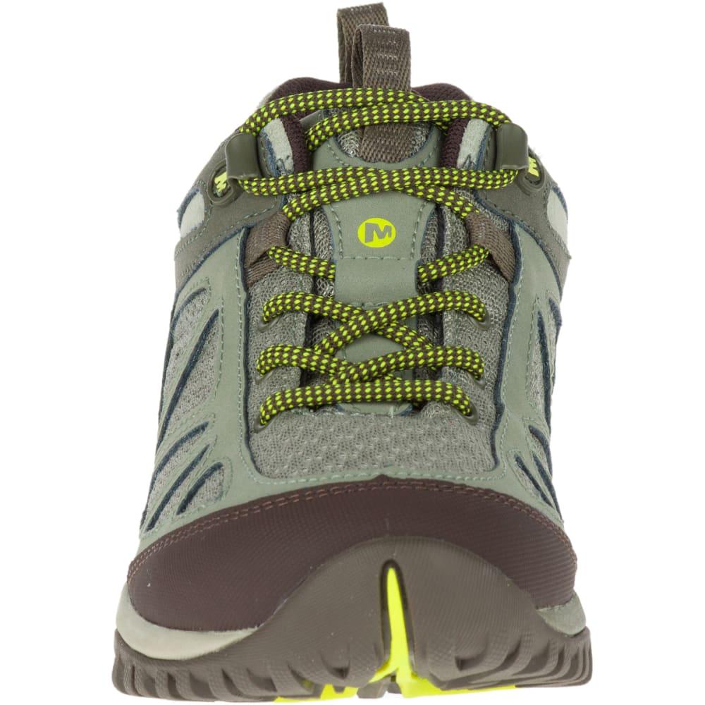 MERRELL Women's Siren Sport Q2 Hiking Shoes, Dusty Olive, Wide - DUSTY OLIVE