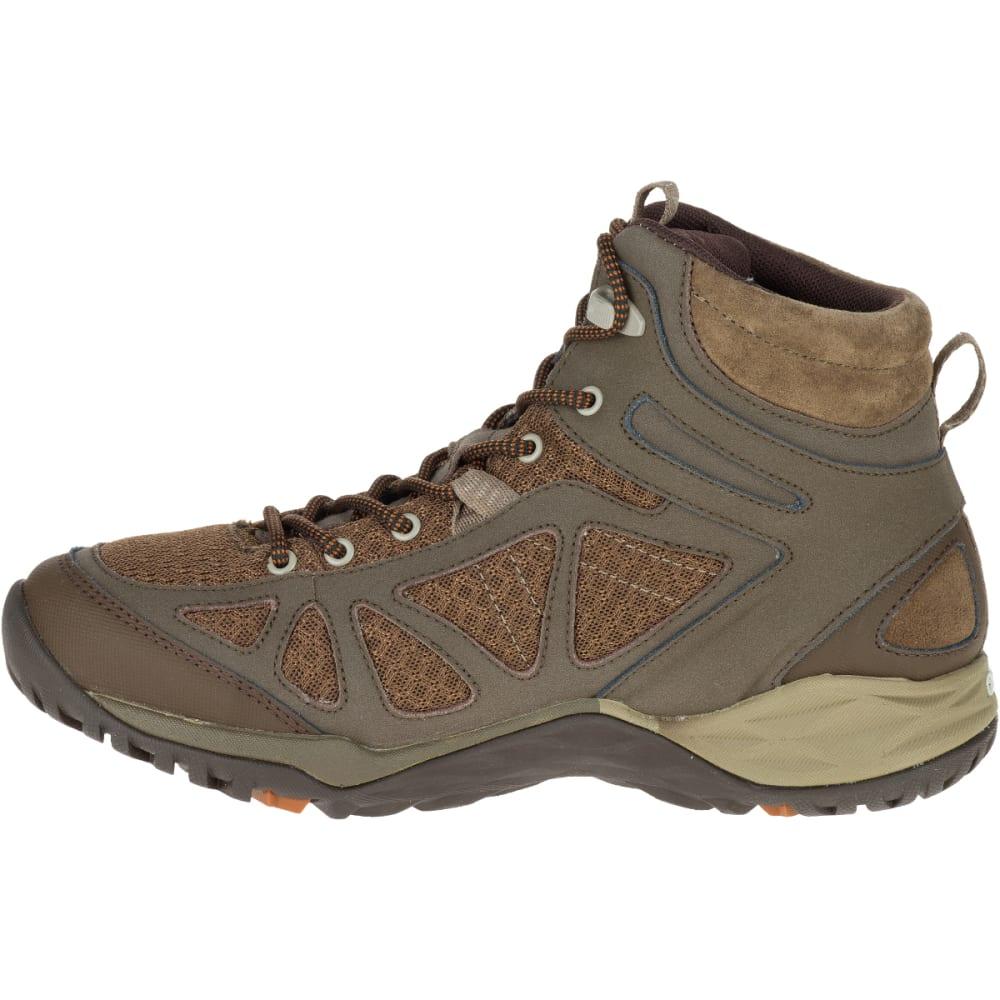 beccb86dc5a MERRELL Women's Siren Sport Q2 Mid Waterproof Hiking Boots, Slate Black,  Wide