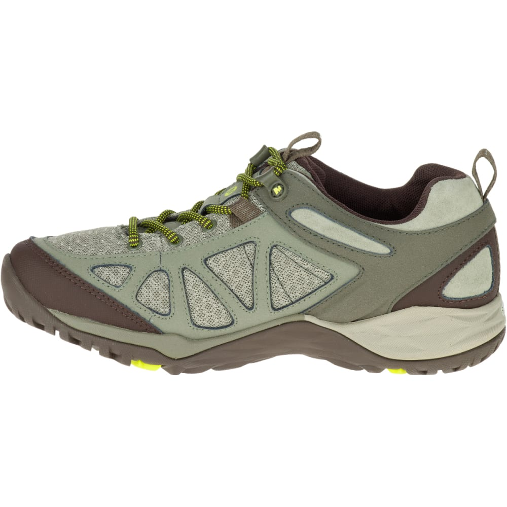 MERRELL Women's Siren Sport Q2 Waterproof Hiking Boots, Dusty Olive - DUSTY OLIVE