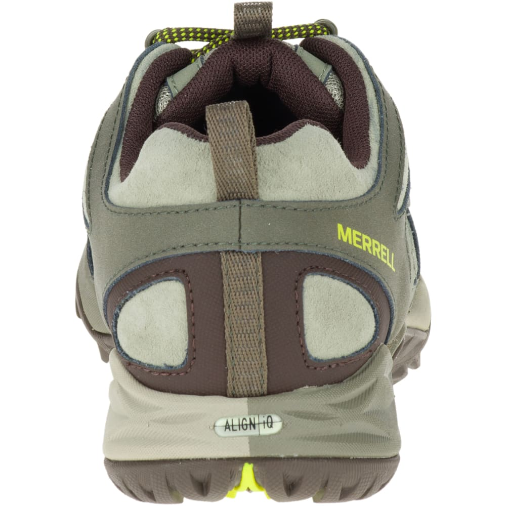 MERRELL Women's Siren Sport Q2 Waterproof Hiking Boots, Dusty Olive, Wide - DUSTY OLIVE