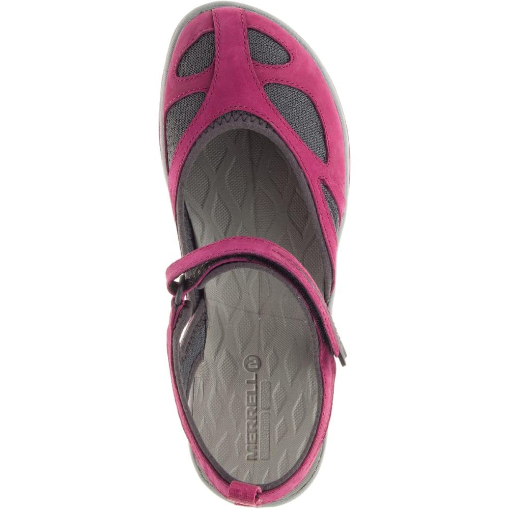 MERRELL Women's Siren Wrap Q2 Sandals, Beet Red - BEET RED