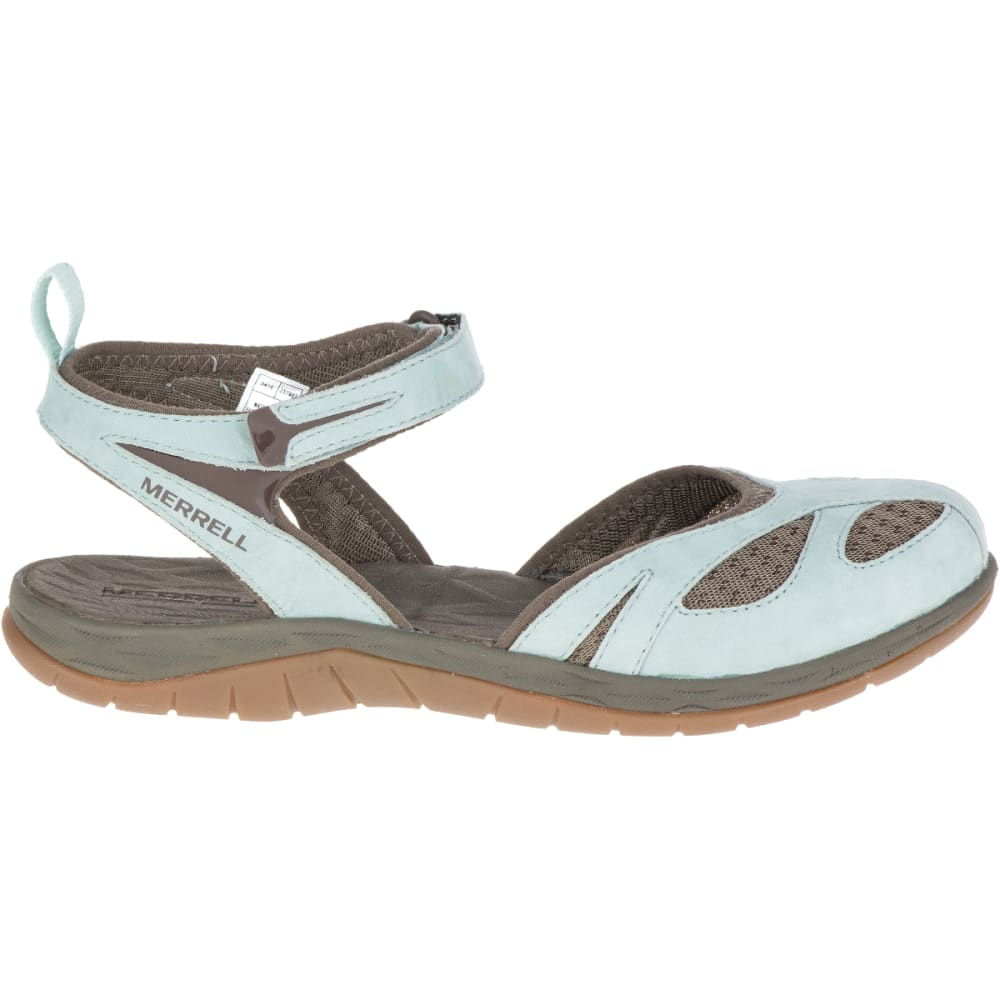 MERRELL Women's Siren Wrap Q2 Sandals, Blue Surf - BLUE SURF
