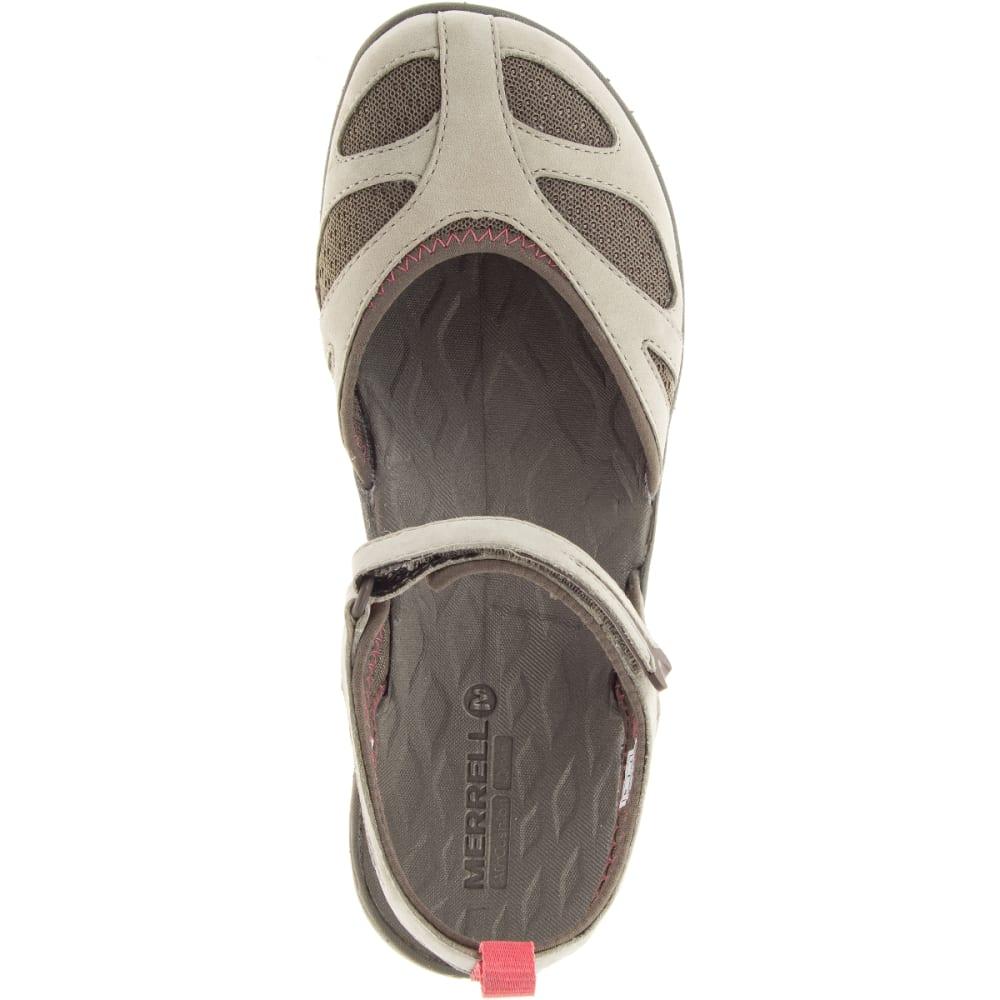 MERRELL Women's Siren Wrap Q2 Sandals, Aluminum - ALUMINIUM
