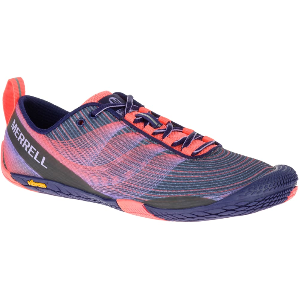 MERRELL Women's Vapor Glove 2 Trail Running Shoes, Crown Blue - CROWN BLUE