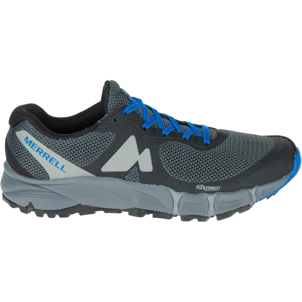 MERRELL Men's Agility Charge Flex Trail Running Shoes, Black - BLACK