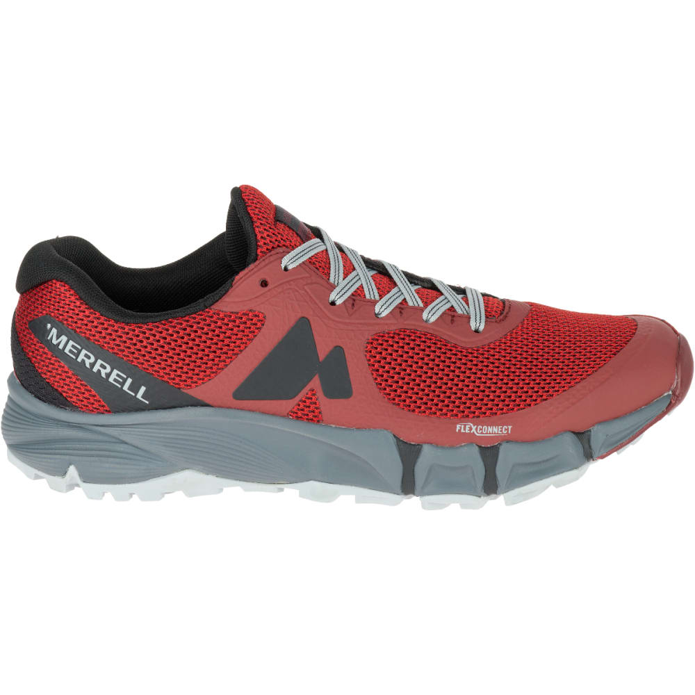 MERRELL Men's Agility Charge Flex Trail Running Shoes, Bossa Nova - BOSSA NOVA